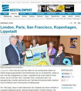 Westfalenpost am 28.06.2012