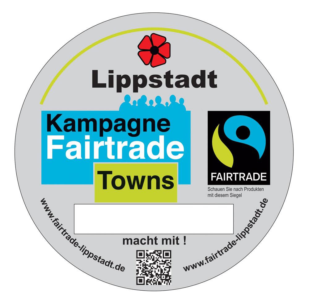 Transfair-Town-Aufkleber Lippstadt 2012