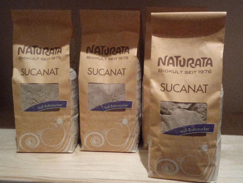 Fairtrade Zucker im Bioladen Green Line