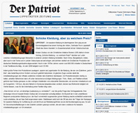 Der Patriot am 09.11.2013