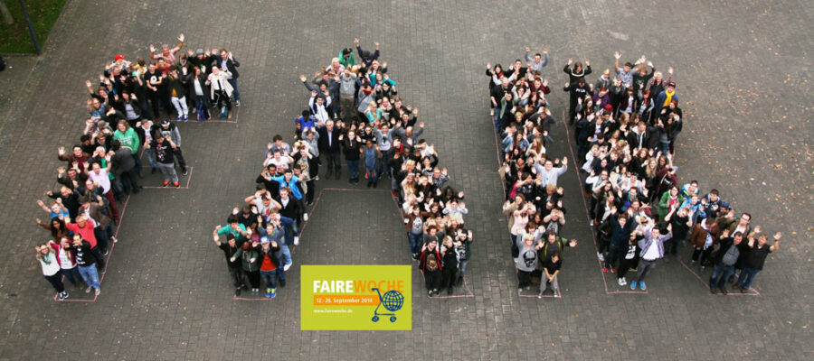 Faire Woche an der INI 2014