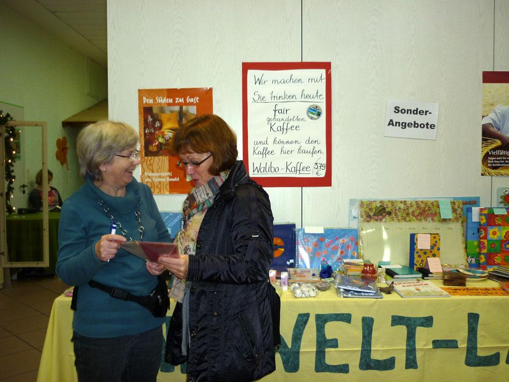 Fairtrade Weihnachtsbasar Weltladen Walibo