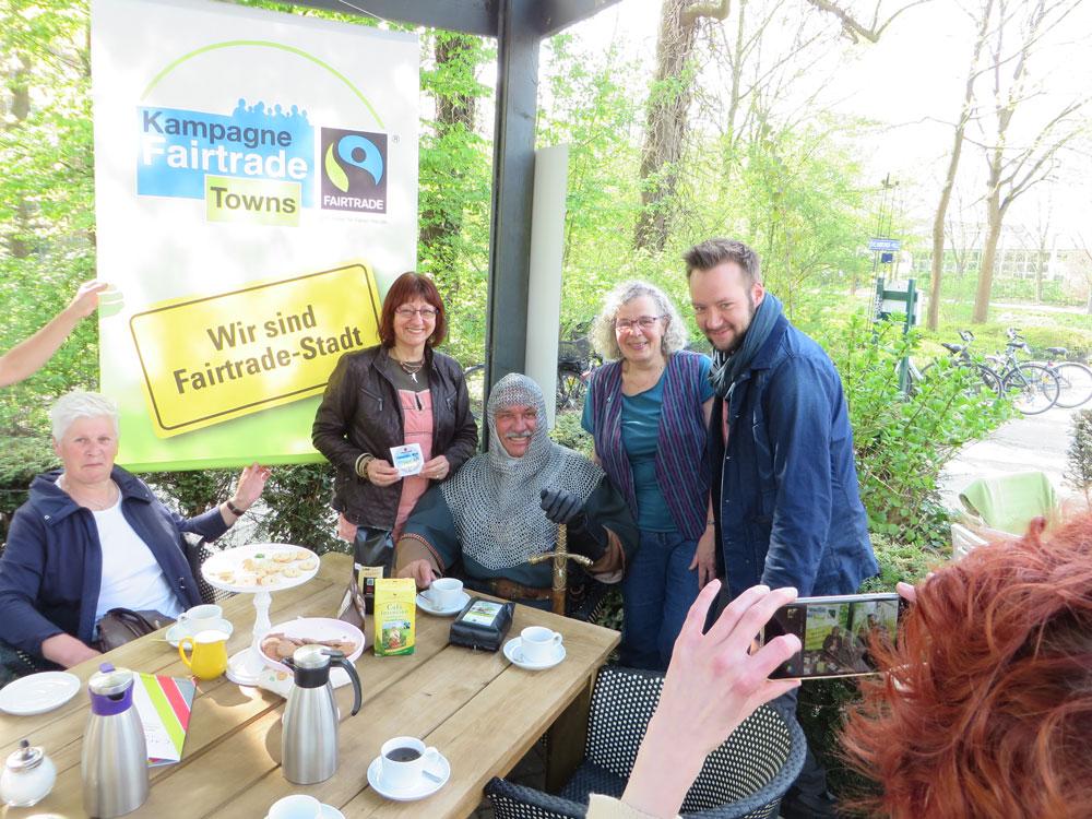Fairtrade Kaffee Verkostung