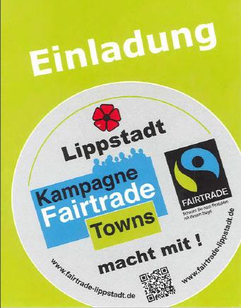 Fairtrade Einladung