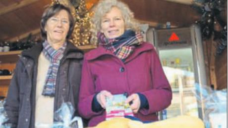 Faire Lippstadt Schokolade auf dem Weihnachtsmarkt