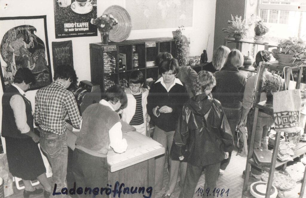 Weltladen Lippstadt 1981